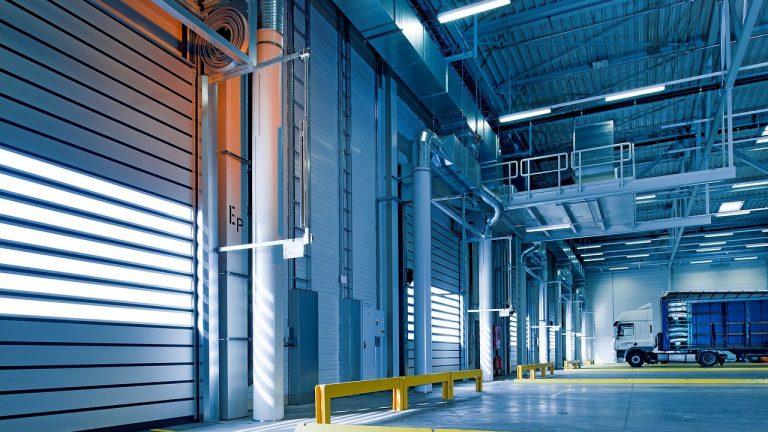 Bramy w obiektach przemysłowych