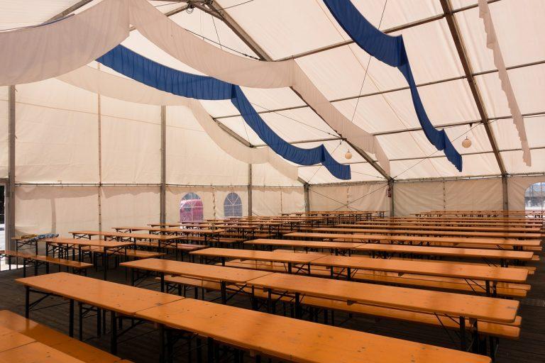 Namioty – wynajem na różne imprezy